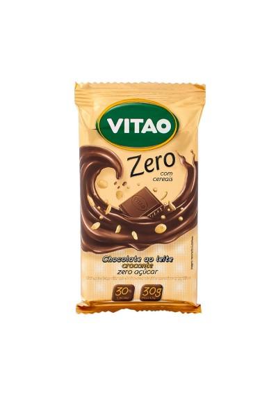 Chocolate ao Leite Zero Cereais Vitao 30g