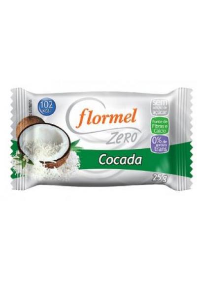 Cocadas Zero Flormel 25g