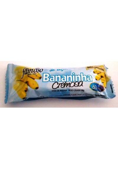 Bananinha Cremosa Famoso Sem Açúcar 30g