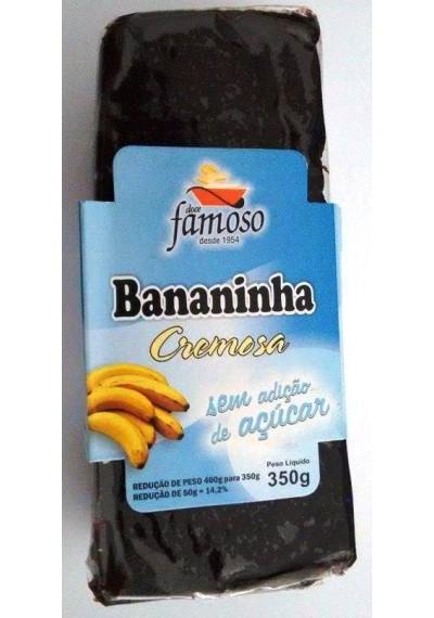 Bananinha Cremosa Famoso Sem Açúcar 350g