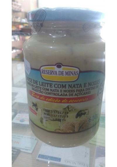 Doce de leite c/  Nata Diet Reserva de Minas 610g