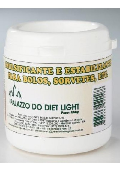 Emulsificante e Estabilizante Para Bolos, Sorvetes 200g