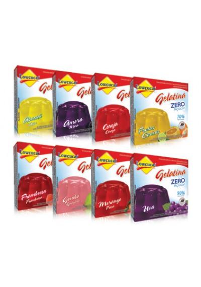 Gelatina Zero Açúcar Lowçúcar 10g