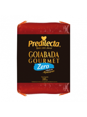 Goiabada Gourmet  Zero Preditela tablete 300grs