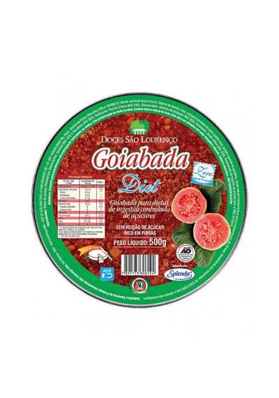 Goiabada Diet - São Lourenço Lata 500g