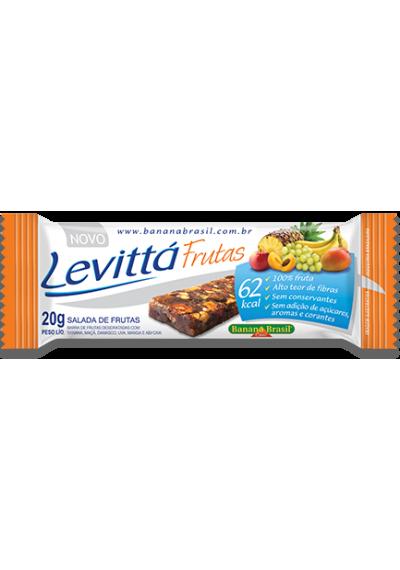 Barra Levittá salada de frutas 20g