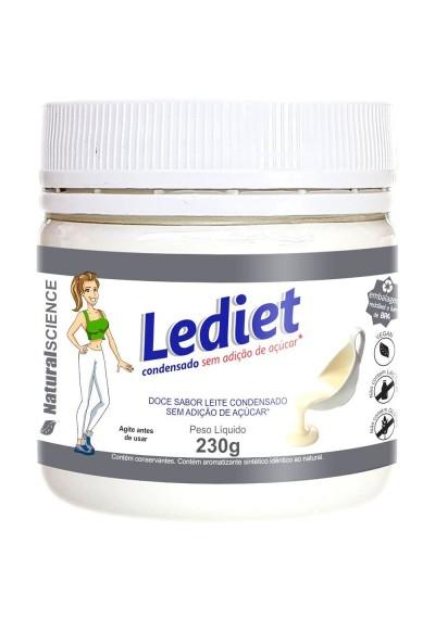 Leite Condensado Vegano Lediet sem Glúten sem Lactose 230g
