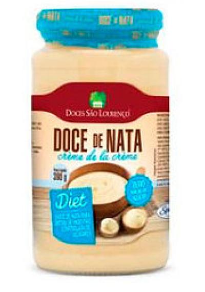 Doce de leite com Nata Diet São Lourenço 390g