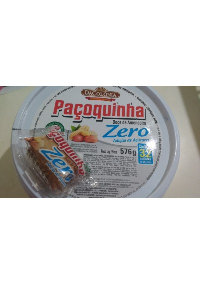 Pacoquinha pote Dacolonia c/ 32 unidades