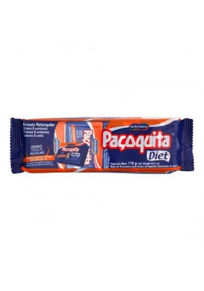 Paçoquita Diet c/8 Santa Helena 176 G