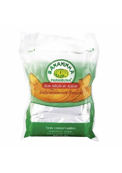 Bananinha Paraibuna s/ Açúcar Pacote 200g