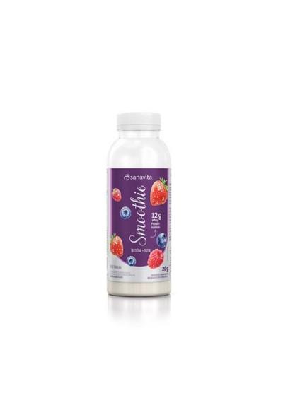 Smoothies Proteina + fruta instantâneo  Sanavita 20grs