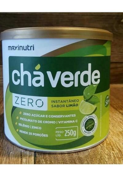 Cha verde Instantâneo Limão maxinutri   200g