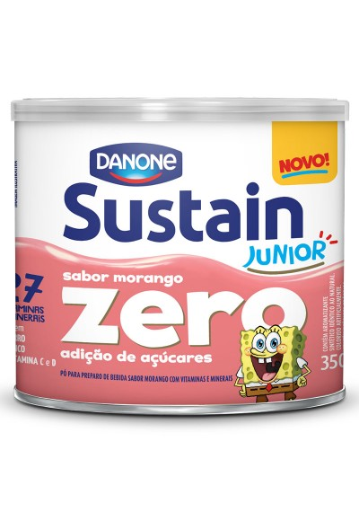 Sustain junior zero morango 350grs
