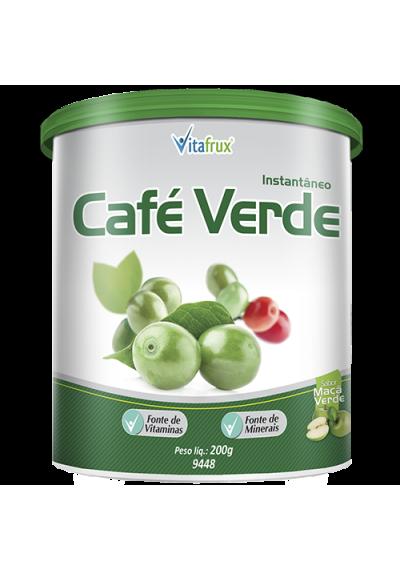 Instantâneo Café Verde  Sabor Maçã Verde Vitafrux 200g
