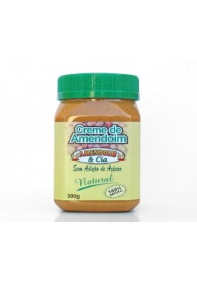 Creme de Amendoim Integral 390g
