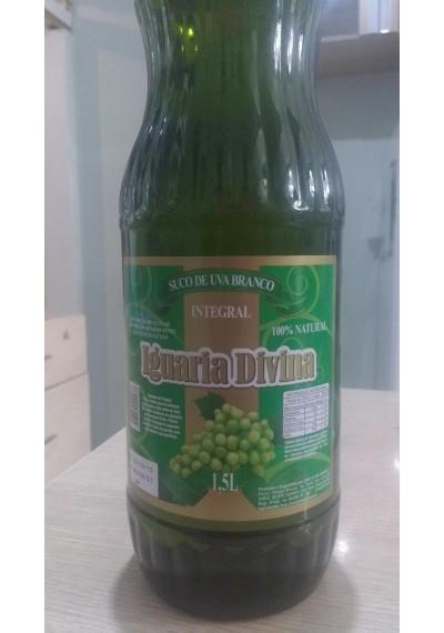 Suco de Uva Branco integral Iguaria Divina 1,5 lt