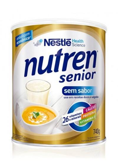 Nutren Senior  sem sabor  Nestle 740grs
