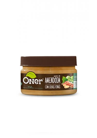 Pasta de Amendoim Oner Brasil250grs
