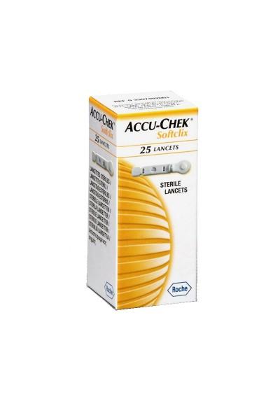 Lancetas Accu-Chek Softclix c/ 25