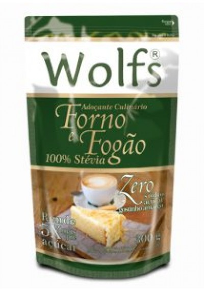 Adoçante Culinário 100% Stevia Wolfs 300 G