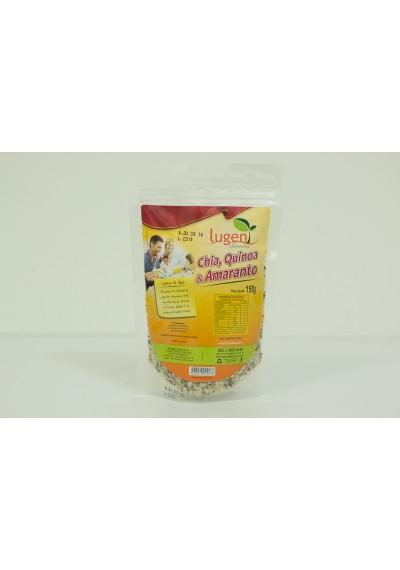 Chia, Quinoa e Amaranto Lugen 150g