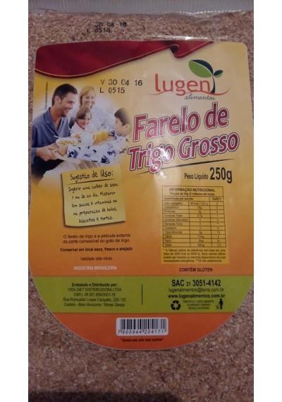 Farelo de Trigo Grosso 250g Lugen