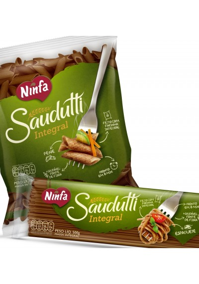 Macarrao Integral Ninfa Saudutti 500grs