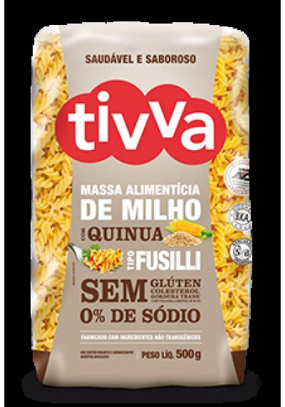 Massa Alimentícia de Milho Fusilli c/ Quinua Tivva 500g. ( Macarrão )