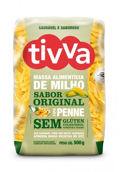 Massa Alimentícia de Milho Sabor Original Tivva 500g. ( Macarrão )