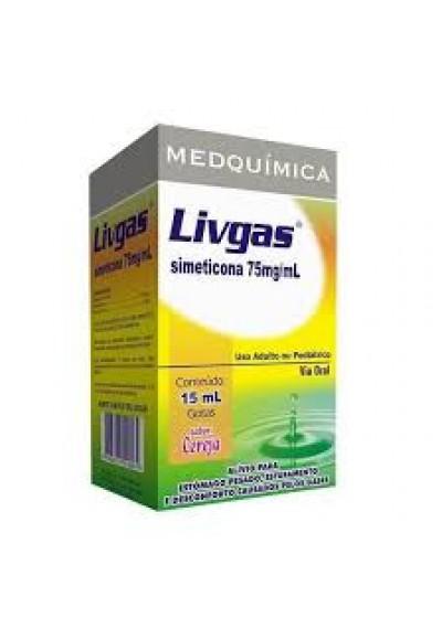 Livgas Gotas 75 mg 15ml