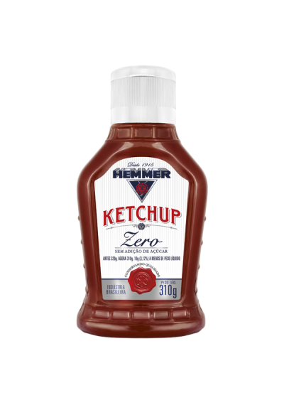 O Ketchup Zero Hemmer 310g