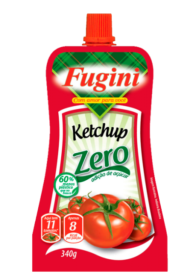 Ketchup Zero fugini 340g