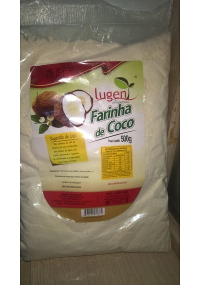 Farinha de coco lugen 500 grs