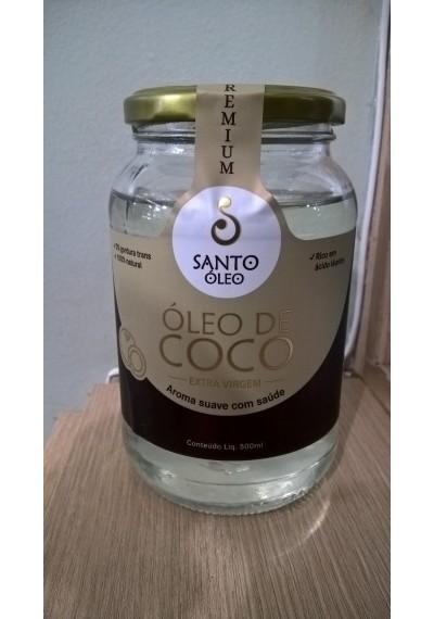 Òleo De Coco extra virgem -santo Óleo 500 ml