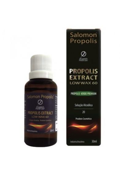 Extrato de Propolis Low Wax 60 Verde Premium 30ml