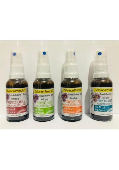 Própolis Spray Sem Alcool Zero Açúcar Salomon 30ml