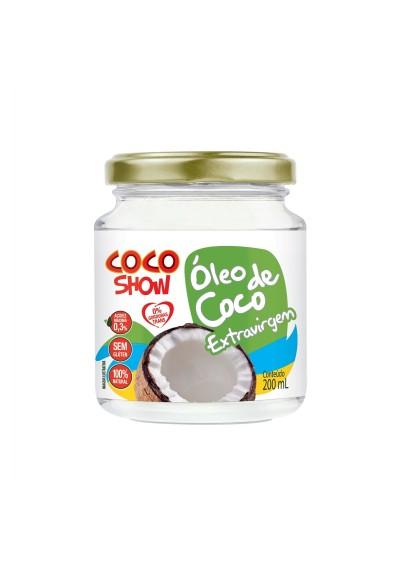 Óleo de Coco Extravirgem cocoshow 200ml