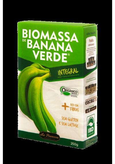 Biomassa de Banana Verde Orgânica Integral Polpa La Pianezza 250g