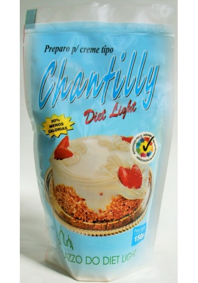 Chantilly Pó Preparo p/ Creme 150g Diet