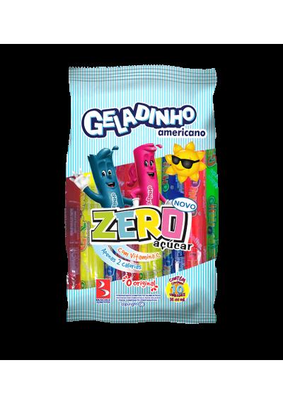 Geladinho Americano Zero Açúcar (Unidade ou Pacote c/ 10)