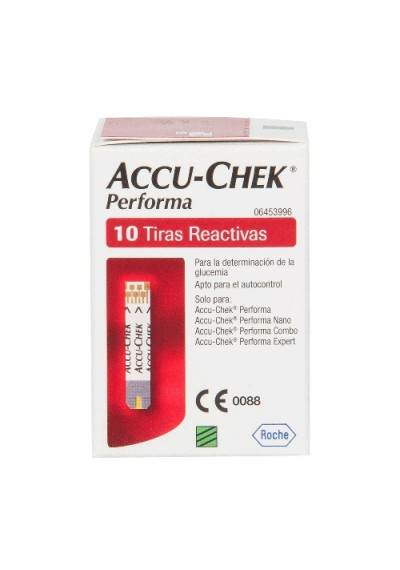 Accu Chek Performa c/ 10