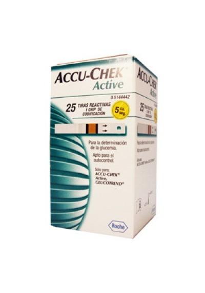 Fitas Accu-Chek Active c/ 25