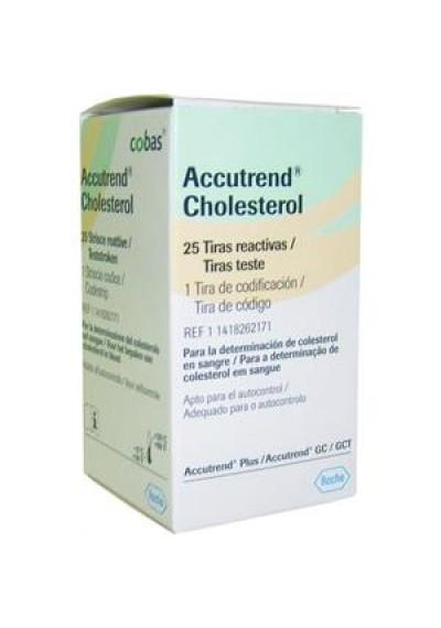 Tiras Accutrend Colesterol c/ 25
