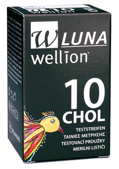 Fita para medir Colesterol Luna c/10