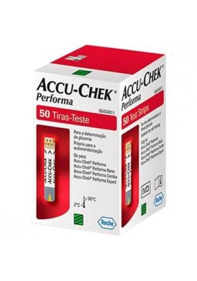 Accu-Chek Performa tiras c/ 50 fitas