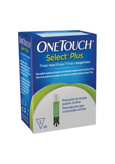 One Touch Select Plus c/ 50 tiras
