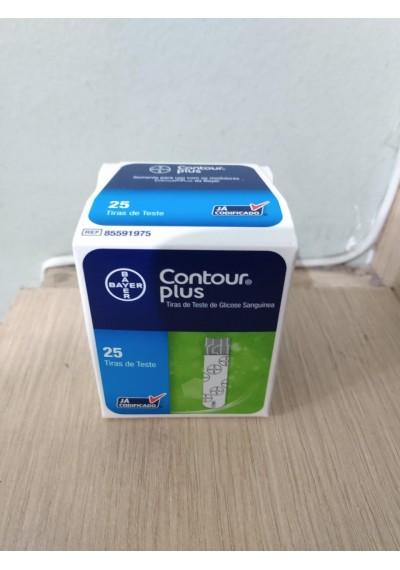 Tiras Contour  Plus c/ 25  Bayer