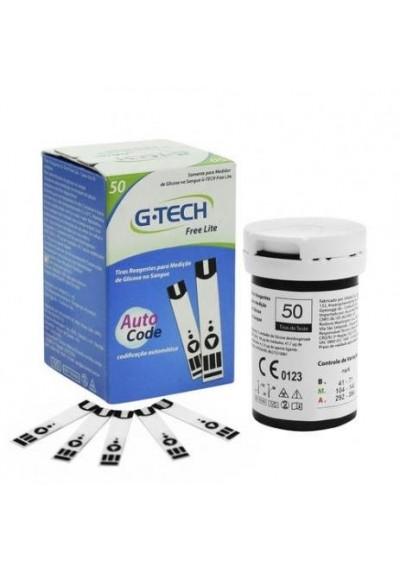 Tiras G-Tech Free/ Free lite c/ 50