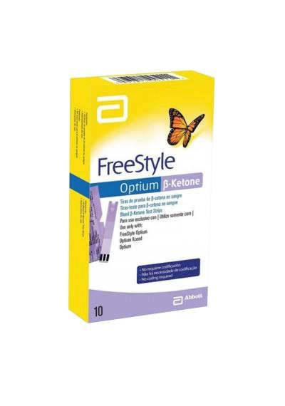 Tiras Freestyle Optium NEO Cetona c/ 10 (B-KETONE) libre